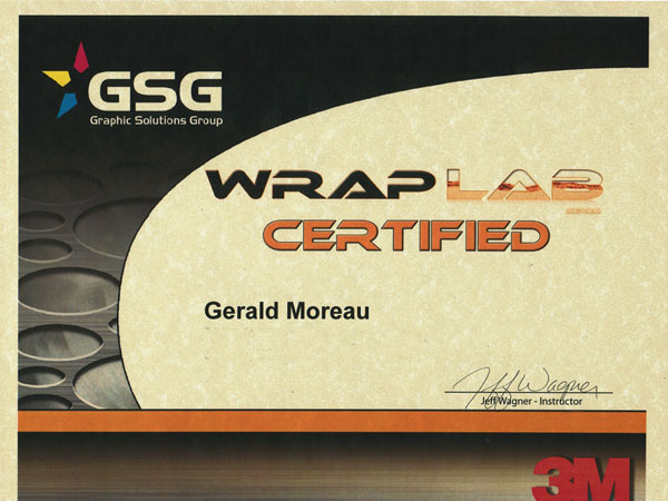 Wrap Lab Certified